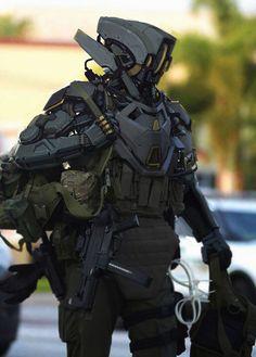 mech by shinku kim Robot Concept Art, Armor Concept, Weapon Concept Art, Concept Cars, Art Cyberpunk, Cyberpunk Character, Vexx Art, Combat Armor, Arte Robot