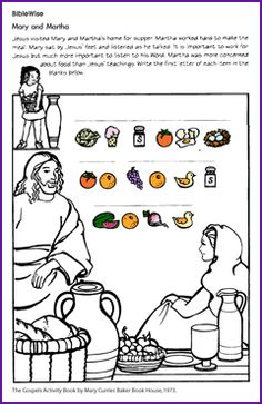 Women of the bible - worksheets and activities
