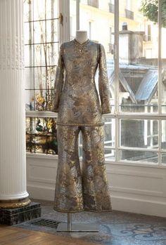 Yves SAINT LAURENT, haute couture, n°23647, Automne - Hiver 1969 Ensemble