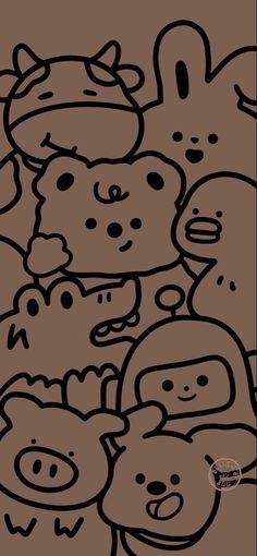 Cute Pastel Wallpaper, Soft Wallpaper, Cute Wallpaper For Phone, Bear Wallpaper, Cute Patterns Wallpaper, Kawaii Wallpaper, Disney Wallpaper, Galaxy Wallpaper, Wallpaper Backgrounds