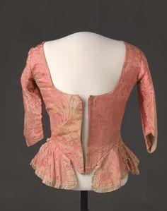 Bodice, 1780's