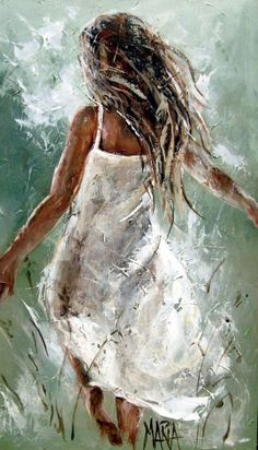 Art Painting by Maria Magdalena Oosthuizen includes Run Away, this example of Contemporary Art has inspired this exceptionally talented artist. View other Paintings by Maria Magdalena Oosthuizen in our Online Art Gallery. Beautiful Paintings, Art Drawings Beautiful, Beautiful Images, Online Art Gallery, Art Online, Love Art, Painting & Drawing, Figure Painting, Watercolor Painting
