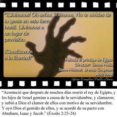 #CitasDePeliculas #CineYBiblia #Cine #ElPrincipeDeEgipto #ThePrinceOfEgypt #Exodo #Liberacion #Salvacion #Moises #Libertad #HansZimmer #StephenSchwartz #Dreamworks