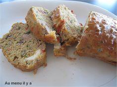 Cake thon, poivron, mozzarella