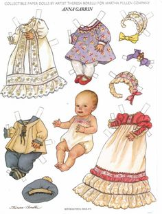 paper doll baby; on the next page there a more clothes; and you find more papaer doll on this site!