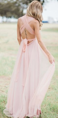 Our Airy Signature Tulle Multiway Dress | Romantic, modern, unique| Goddess by Nature ✨