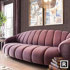 Seductive Curved Sofas For A Modern Living Room Design Amazing modern sofas ideas to inspire you Living Room Sofa Design, Living Room Designs, Living Room Decor, Sofa Furniture, Luxury Furniture, Furniture Design, Modern Sofa Designs, Sofa Set Designs, Luxury Sofa