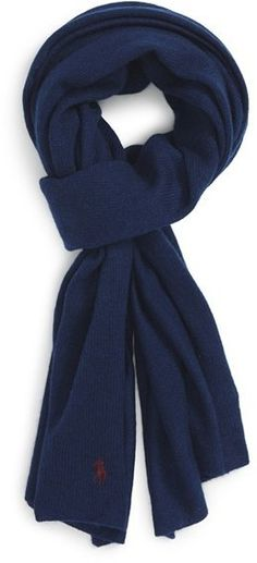 $67, Polo Ralph Lauren Cashmere Wool Scarf. Sold by Nordstrom. Click for more info: https://lookastic.com/men/shop_items/387407/redirect
