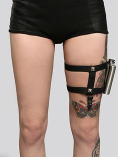 Hidden Garter Flask Set - What's New | GYPSY WARRIOR http://gypsywarrior.com/whats-new/hidden-garter-flask-set.html