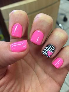 Gel mani shellac zebra pink Valentine nails polish February We are want to say t. - Gel mani shellac zebra pink Valentine nails polish February We are want to say thanks if you like t - Valentine's Day Nail Designs, Acrylic Nail Designs, Acrylic Nails, Nails Design, Art Designs, Zebra Nail Designs, Fingernail Designs, Pretty Designs, Pink Nail Polish