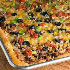 Easy Recipes to Do: Taco Pizza