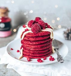 Sweet Recipes, Snack Recipes, Dessert Recipes, Cute Food, Yummy Food, Crepes And Waffles, Pancakes, Kreative Desserts, Smoothie Vert