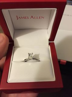 14k White Gold 2mm Knife Edge Solitaire Engagement Ring The Design Of This