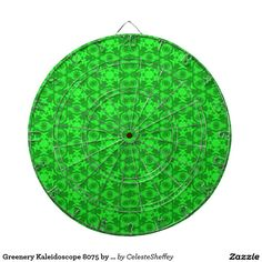 Greenery Kaleidoscope 8075 by Khoncepts - Dartboards