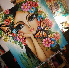 Art Drawings For Kids, Art Drawings Sketches Simple, Indian Art Gallery, Drawings Pinterest, Paint Brush Art, Abstract Face Art, Frida Art, African Art Paintings, Mini Canvas Art