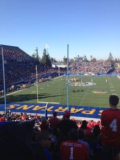 San Jose State/Fresno State game. December 2013 #spartansports #sjsu