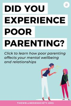 Did you experience a difficult childhood? Read our article on how poor parenting can influence you as an adult #mentalwellbeing #mentalwellness #selfhelp Mental Health Blogs, Mental Health And Wellbeing, Welcome To The Group, Parenting Fail, Motivation Goals, Stress Management, Self Improvement, Self Help, Self Love