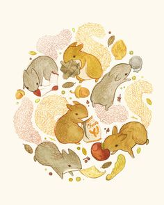 Things Squirrels Probably Shouldn't be Eating, Teagan White
