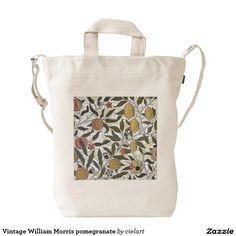 Vintage William Morris pomegranate Duck Bag