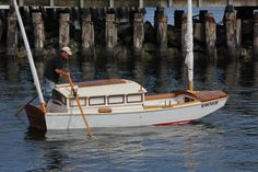 Where is info on the Garvey Houseboat? Wooden Boat Building, Boat Building Plans, Boat Plans, Landscaping Around House, Luxury Landscaping, Float Life, Shanty Boat, Honfleur, Build Your Own Boat