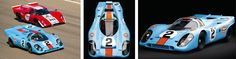1969 Porsche 917: Legendary Twice winer in Le Mans and Cam-Am and featured in films and also raced by Steve McQueen, and to this day still one of the most powerful cars ever made.