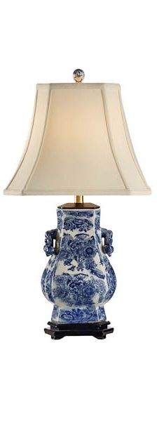 1000 Images About Blue And White Lamps On Pinterest Living Room Table Lamps Bedroom Table