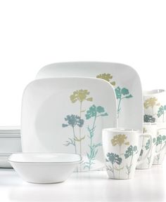 Corelle Dinnerware, Paper Shadows 16 Piece Set - Casual Dinnerware - Dining & Entertaining - Macy's