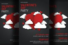 Flyer Design Templates, Valentines Day, Business Flyer, Design Tutorials, Graphic Design, Design Art, Pattern Design, Club Flyers, Resume