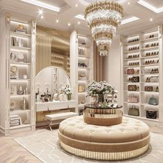Bedroom Closet Design, Home Room Design, Dream Home Design, Home Interior Design, House Design, Mansion Interior, Dream House Interior, Luxury Homes Dream Houses, Wardrobe Room