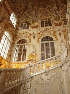 State Hermitage Museum - Saint Petersburg, Russia / The Main Staircase of the Winter Palace