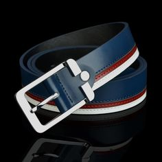 Free Shipping Pin buckle belt men cowhide genuine leather belts straps px286 new arrival