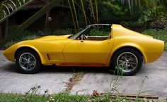 """[UPDATE] The Electric C3 Corvette Hits the Road -When We first saw the 1976 Electric C3 Corvette the project was still in its relatively early stages. The body was off the frame and a lot of the early design and fabrication was underway. As mentioned earlier, the car is now road worthy and Keith has since added a 300 volt battery pack, a 2000 amp controller and what he describes as a """"highly integrated touchscreen computer interface""""…"""