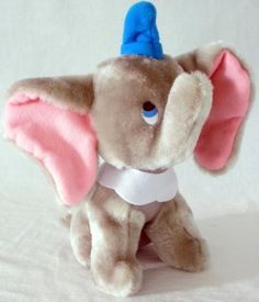 Walt Disney's Animated Clasiic Films 7 Inch Dumbo Plush Doll #Disney