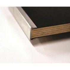 Maywood Furniture Standard Series Gathering Table Edge: Channel Aluminum Edge (CAE)