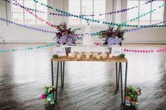 Geometric Wedding Inspiration from Sarah Park Events