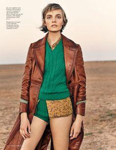 Nimue Smit by Marc De Groot for Vogue Netherlands July 2015 - PRADA