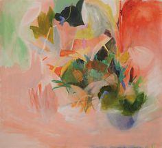 "Saatchi Art Artist Mariel Evangelista; Painting, ""suspiro rosa"" #art"