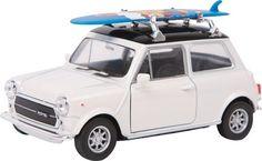 Small Foot Modelauto Mini Cooper 1300 + Surfplank Metaal