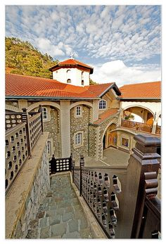 The Holy Monastery of the Virgin of Kykkos was founded around the end of the 11th century. The monastery lies at an altitude of 1318 meters on the north west face of Troodos Mountain. #kitsakis
