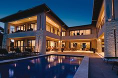 Durban at the African Pride Hotels' Endless Horizons property U Shaped House Plans, U Shaped Houses, Pride Hotel, Rich Home, Indoor Swimming Pools, Australian Homes, Beautiful Architecture, House Rooms, Luxury Homes