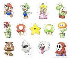 Vert aquarelle champignon 1UP - impression d'Art IMPRESSION Giclée d'ART de ma peinture aquarelle originale de la 1UP vert champignon du jeu vidéo de Nintendo Mario.  -Encres à pigments darchives haute qualité -4 x 6, 5 x 7, 8 x 10, 8,5 x 11 tirages : sur papier 100 % coton fine art (64lb) -13 x 19, 12 x 16, 11 x 14 imprime : sur 13 x 19 Epson papier aquarelle -Sinsérera dans des cadres standards -Sans marges, sauf indication contraire  Recadrage de limage varie légèrement avec différents…