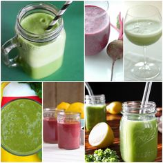6 Detox Smoothies You'll Love. not to detox, but to encourage trying new ways to eat veggies and incorporate them into your diet :]