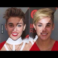 Miley and Justin's faces fit like pieces of a puzzle - http://limk.com/news/miley-and-justins-faces-fit-like-pieces-of-a-puzzle-161391268/