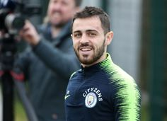 Bernardo Silva of Manchester City walks out to train at Manchester City Football Academy on January 2019 in Manchester, England. Get premium, high resolution news photos at Getty Images Manchester England, Manchester City, Zen, January 2, Bernardo, Walk Out, Soccer Players, Book Collection, Walks