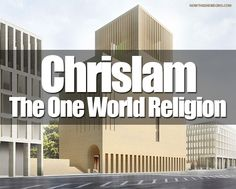 """Wow, this is big. Construction on the world's first-ever house of worship for Chrislam will begin at the """"home of the Holocaust"""" in Berlin, Germany. You are looking at the first ever church for the One World Religion prophesied in the book of Revelation. Now it begins...are YOU ready for what comes next? #Chrislam #OneWorldReligion #HouseOfOne http://www.nowtheendbegins.com/blog/?p=22829"""