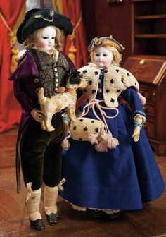 View Catalog Item - Theriault's Antique Doll Auctions, bisque, tricorn
