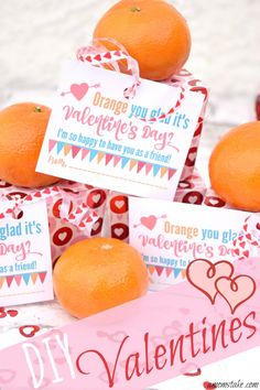 These easy DIY Valentines are perfect for your kids school Valentine's Day party. Plus, free printable Valentines! via @amomstake