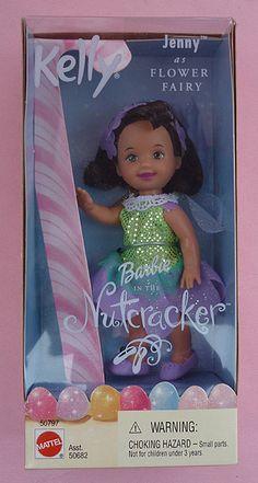 Nutcracker Barbie - Jenny as Flower Fairy