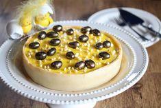 Påske-suksessterte med marsipan og appelsin Scones, Granola, Camembert Cheese, Cheesecake, Snacks, Baking, Desserts, Recipes, Food