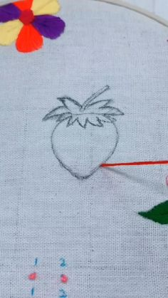 Hand Embroidery Patterns Flowers, Hand Embroidery Videos, Embroidery Stitches Tutorial, Creative Embroidery, Simple Embroidery, Learn Embroidery, Hand Embroidery Designs, Embroidery Techniques, Ribbon Embroidery